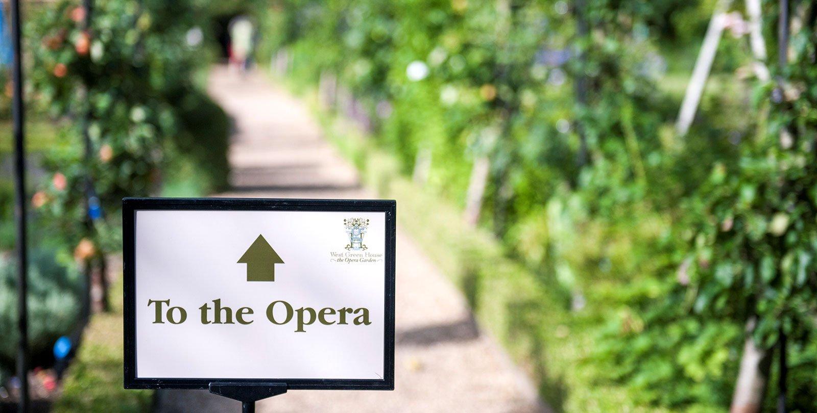The Aria Club opera sign